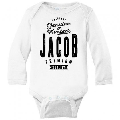 Jacob Long Sleeve Baby Bodysuit Designed By Chris Ceconello