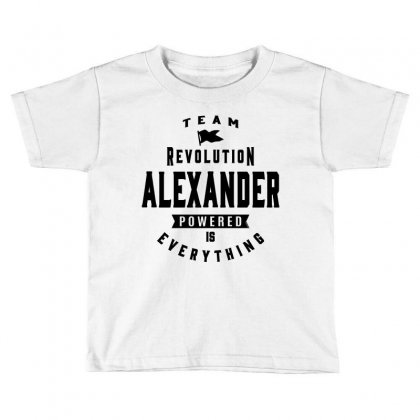 Alexander Toddler T-shirt Designed By Chris Ceconello