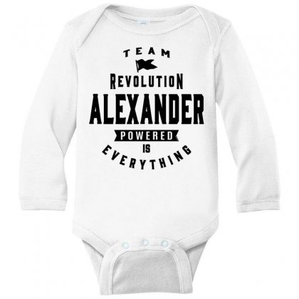 Alexander Long Sleeve Baby Bodysuit Designed By Chris Ceconello