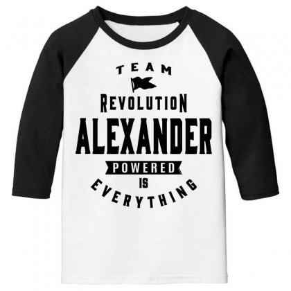 Alexander Youth 3/4 Sleeve Designed By Chris Ceconello