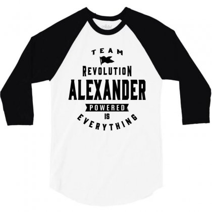 Alexander 3/4 Sleeve Shirt Designed By Chris Ceconello