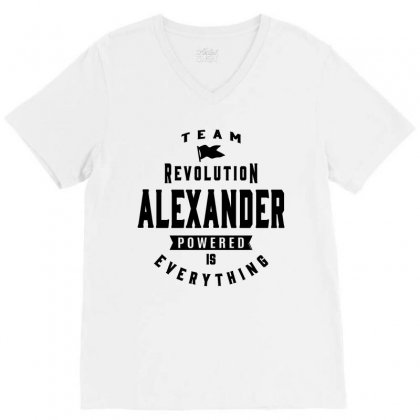 Alexander V-neck Tee Designed By Chris Ceconello