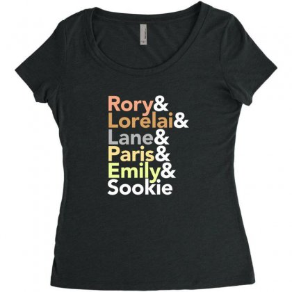 Gilmore Girls Women's Triblend Scoop T-shirt Designed By Disgus_thing