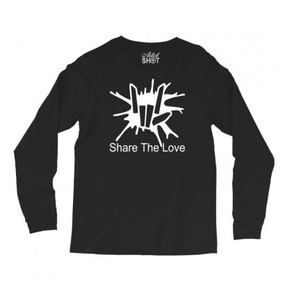 Share The Love Long Sleeve Shirts Designed By Satrio Art