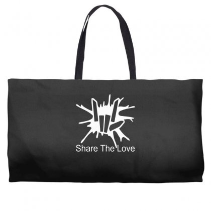 Share The Love Weekender Totes Designed By Satrio Art