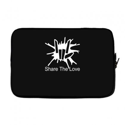Share The Love Laptop Sleeve Designed By Satrio Art