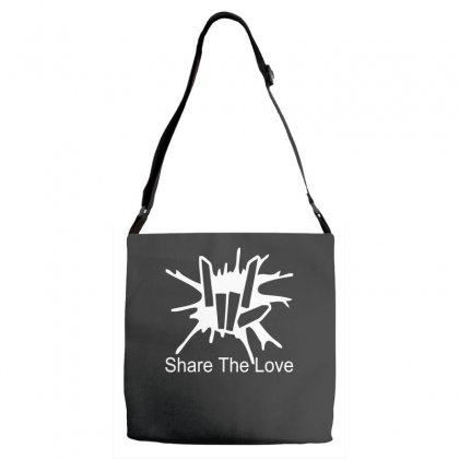 Share The Love Adjustable Strap Totes Designed By Satrio Art
