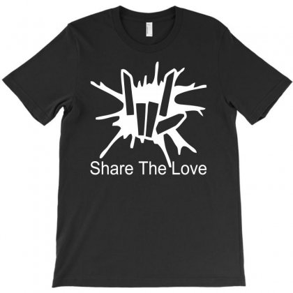 Share The Love T-shirt Designed By Satrio Art