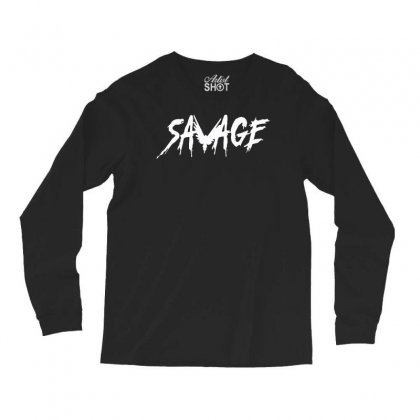 Savage Long Sleeve Shirts Designed By Satrio Art