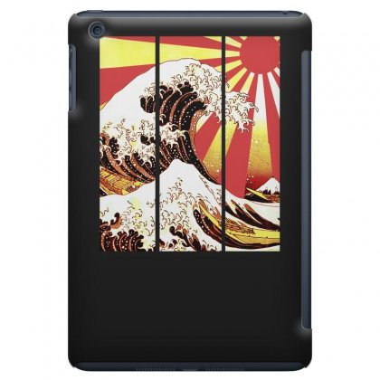 Surf In Japan (the Great Wave Off Kanagawa) Ipad Mini Case Designed By Aheupote