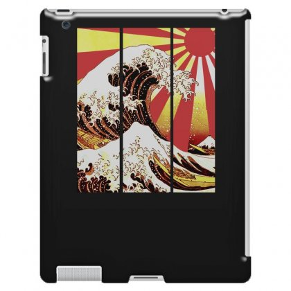 Surf In Japan (the Great Wave Off Kanagawa) Ipad 3 And 4 Case Designed By Aheupote