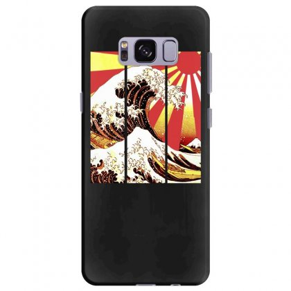 Surf In Japan (the Great Wave Off Kanagawa) Samsung Galaxy S8 Plus Case Designed By Aheupote