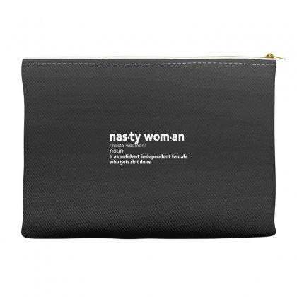 Nasty Woman Accessory Pouches Designed By Disgus_thing
