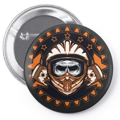 Wow Pin-back Button Designed By Arabi