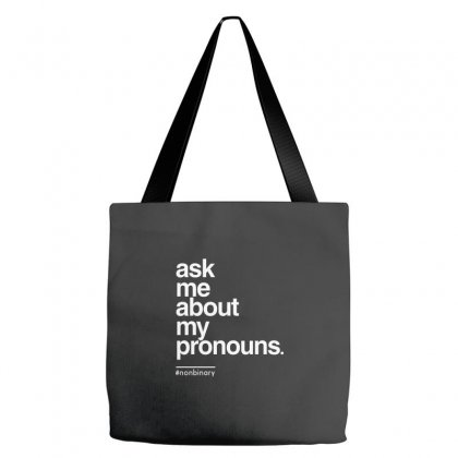 Ask Me About My Pronounce Tote Bags Designed By Disgus_thing