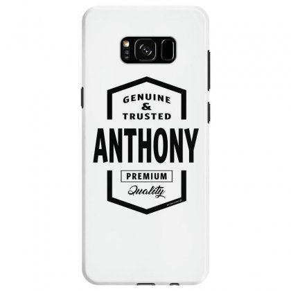 Anthony Samsung Galaxy S8 Case Designed By Chris Ceconello