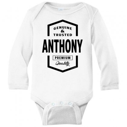 Anthony Long Sleeve Baby Bodysuit Designed By Chris Ceconello