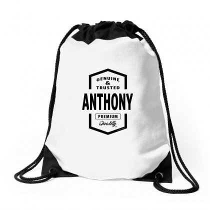 Anthony Drawstring Bags Designed By Chris Ceconello