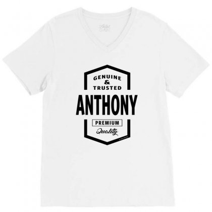 Anthony V-neck Tee Designed By Chris Ceconello