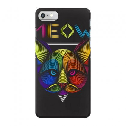 Meow Iphone 7 Case Designed By Arabi