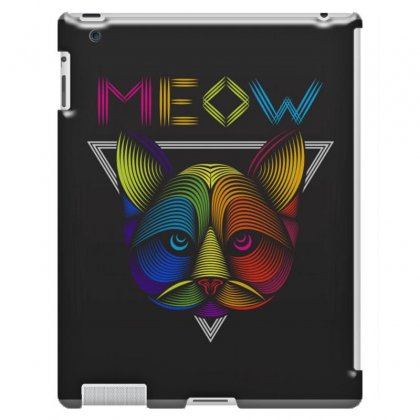 Meow Ipad 3 And 4 Case Designed By Arabi
