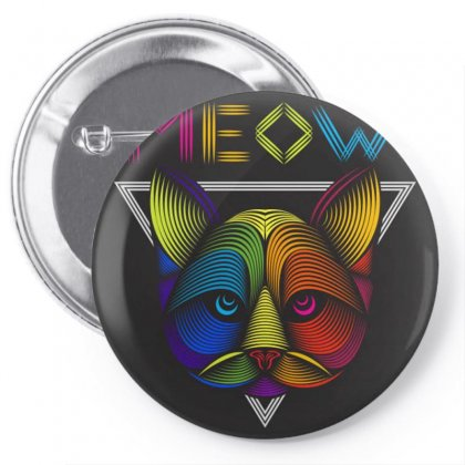 Meow Pin-back Button Designed By Arabi