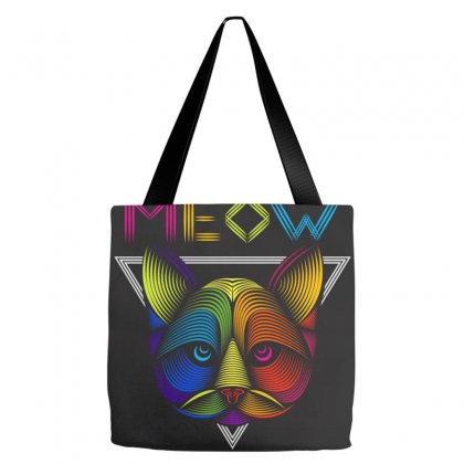 Meow Tote Bags Designed By Arabi