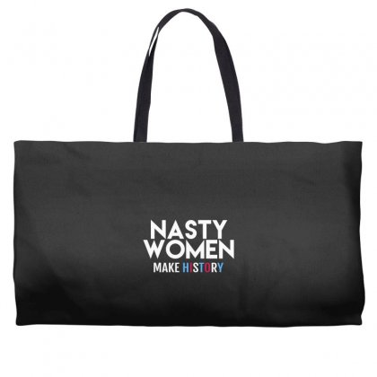 Nasty Women Weekender Totes Designed By Disgus_thing