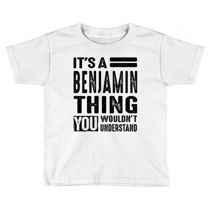 Benjamin Toddler T-shirt Designed By Chris Ceconello