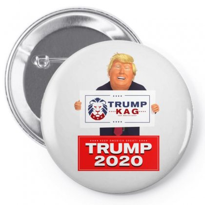 Trump Kag 2020 Pin-back Button Designed By Tiococacola