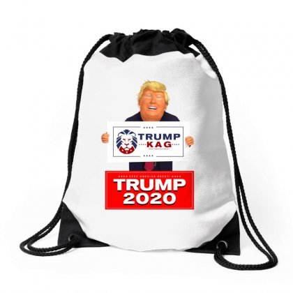 Trump Kag 2020 Drawstring Bags Designed By Tiococacola