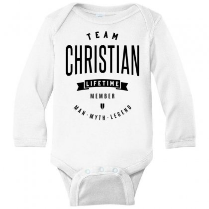 Christian Long Sleeve Baby Bodysuit Designed By Chris Ceconello
