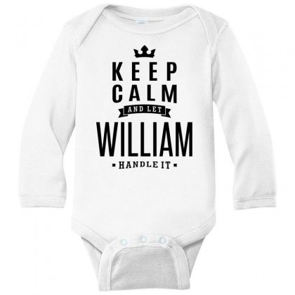 William Long Sleeve Baby Bodysuit Designed By Chris Ceconello