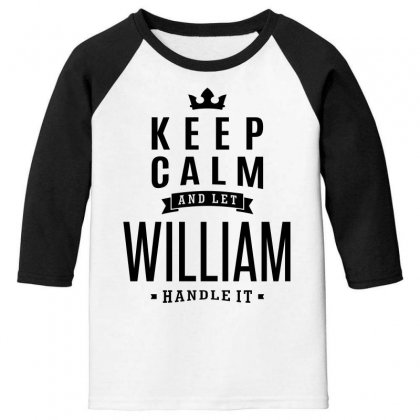 William Youth 3/4 Sleeve Designed By Chris Ceconello