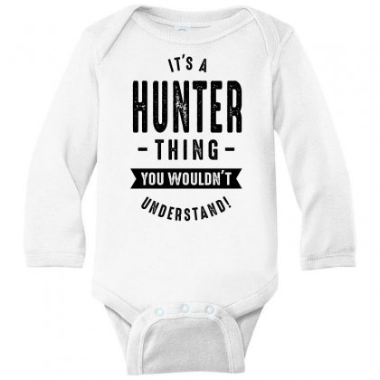Hunter Long Sleeve Baby Bodysuit Designed By Chris Ceconello