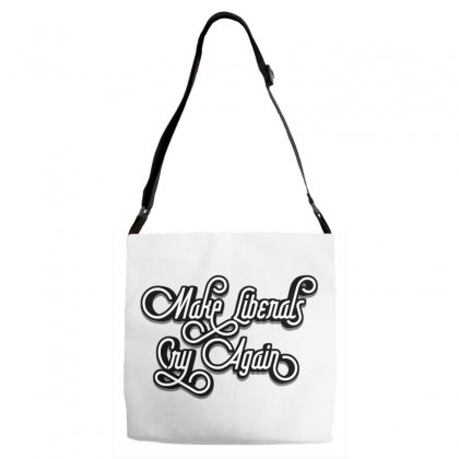 Make Liberals Cry Again Lettering Adjustable Strap Totes Designed By Tiococacola