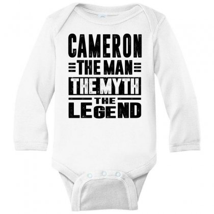 Cameron Long Sleeve Baby Bodysuit Designed By Chris Ceconello