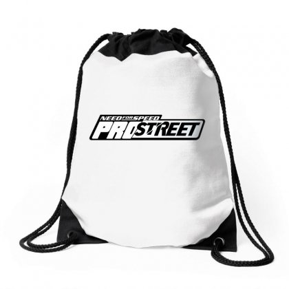 Need For Speed Pro Street License Plate Drawstring Bags Designed By Tiococacola