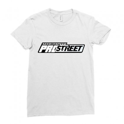 Need For Speed Pro Street License Plate Ladies Fitted T-shirt Designed By Tiococacola
