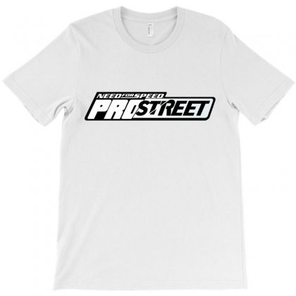Need For Speed Pro Street License Plate T-shirt Designed By Tiococacola