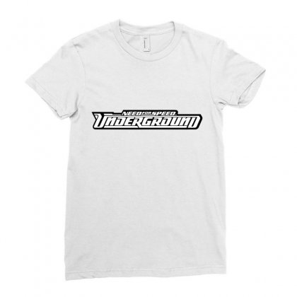 Need For Speed Underground Ladies Fitted T-shirt Designed By Tiococacola