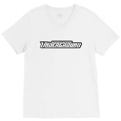 Need For Speed Underground V-neck Tee Designed By Tiococacola