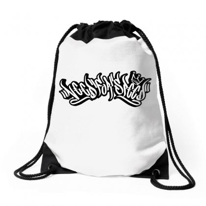 Need For Speed Graffiti Drawstring Bags Designed By Tiococacola