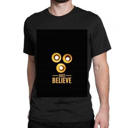 Believer Classic T-shirt Designed By Shekoz