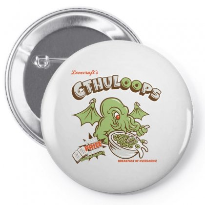 Cthuloops Logo Pin-back Button Designed By Tasha
