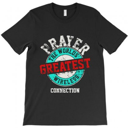 The Worlds Greatest Wireless Connection T-shirt Designed By Mirazjason