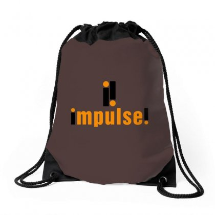 Impulse Record Label Drawstring Bags Designed By Tasha