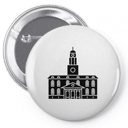 Black Tower University Pin-back Button Designed By Peri