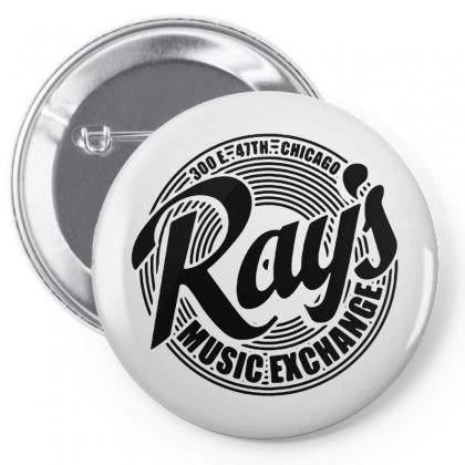 Ray's Music Exchange Pin-back Button Designed By Tasha