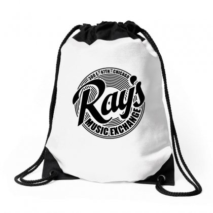 Ray's Music Exchange Drawstring Bags Designed By Tasha